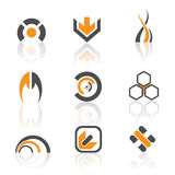 Jogo do logotipo Fotos de Stock Royalty Free