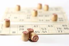 jogo do lotto Imagem de Stock Royalty Free