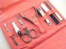 Jogo do Manicure Imagens de Stock Royalty Free