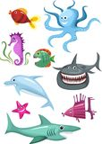 Jogo do mar Imagens de Stock