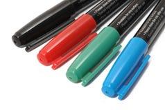 Jogo do marcadores coloridos Imagem de Stock
