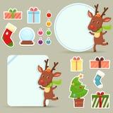 Jogo do Natal Imagens de Stock Royalty Free