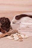 Jogo do ofício da costura Costurando acessórios do passatempo imagens de stock royalty free