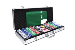 Jogo do póquer Foto de Stock Royalty Free