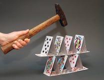 Jogo do perigo Foto de Stock