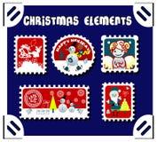 Jogo do porte postal do inverno Foto de Stock Royalty Free