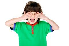 Jogo do rapaz pequeno Foto de Stock