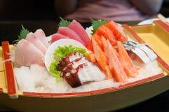 Jogo do Sashimi Fotografia de Stock