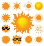 Jogo do sol Foto de Stock