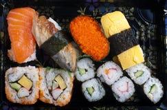 Jogo do sushi Imagem de Stock Royalty Free
