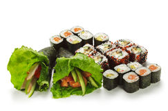 Jogo do sushi Foto de Stock Royalty Free