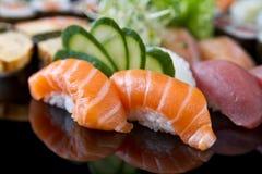 Jogo do sushi Foto de Stock Royalty Free