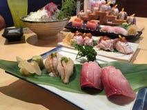 Jogo do sushi Fotografia de Stock Royalty Free