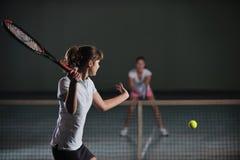 Jogo do tênis Imagem de Stock Royalty Free