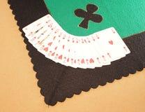 Jogo do Tablecloth Imagens de Stock