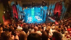 Jogo do teatro de Londres imagens de stock royalty free