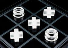 jogo do Tic-tac-dedo do pé Imagem de Stock Royalty Free