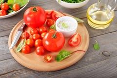 Jogo do tomate Imagens de Stock Royalty Free