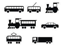 Jogo do transporte Imagens de Stock Royalty Free