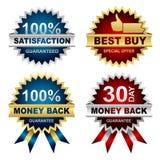 Jogo do vetor dos selos Imagens de Stock