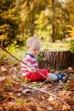 Jogo doce do bebê Foto de Stock Royalty Free