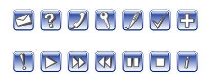 Jogo dos ícones #3 do vetor Foto de Stock