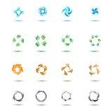 Jogo dos ícones Imagens de Stock
