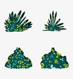 Jogo dos arbustos ilustração royalty free