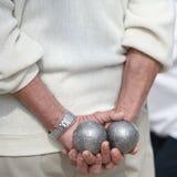 Jogo dos Boules (Petanque) Imagens de Stock
