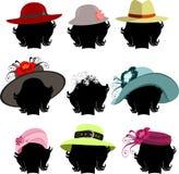 Jogo dos chapéus Imagens de Stock