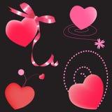 Jogo dos corações Imagem de Stock