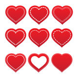Jogo dos corações Fotos de Stock