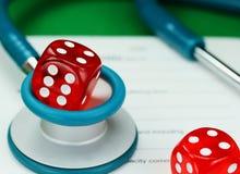 Jogo dos cuidados médicos Foto de Stock Royalty Free