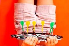 Jogo dos dardos.   Fotografia de Stock