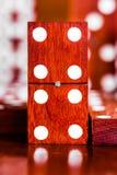 Jogo dos dominós imagem de stock