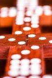 Jogo dos dominós imagem de stock royalty free