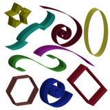 Jogo dos elementos 3d Fotografia de Stock Royalty Free