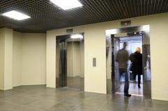 Jogo dos elevadores. Fotografia de Stock Royalty Free