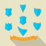 Jogo dos emblemas Fotos de Stock Royalty Free
