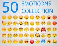 Jogo dos emoticons Fotos de Stock
