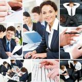 Jogo dos executivos Foto de Stock