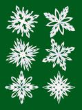Jogo dos flocos de neve Foto de Stock