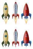 Jogo dos foguetes Imagem de Stock