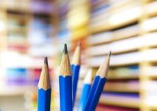 Jogo dos lápis Fotos de Stock Royalty Free
