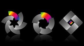 Jogo dos logotipos Imagem de Stock Royalty Free