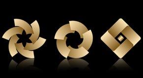 Jogo dos logotipos Fotografia de Stock Royalty Free