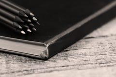 Jogo dos lápis Fotografia de Stock Royalty Free