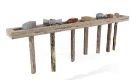 Jogo dos martelos Imagem de Stock