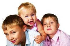 Jogo dos miúdos Fotografia de Stock Royalty Free