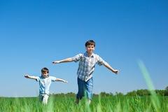 Jogo dos miúdos Imagem de Stock